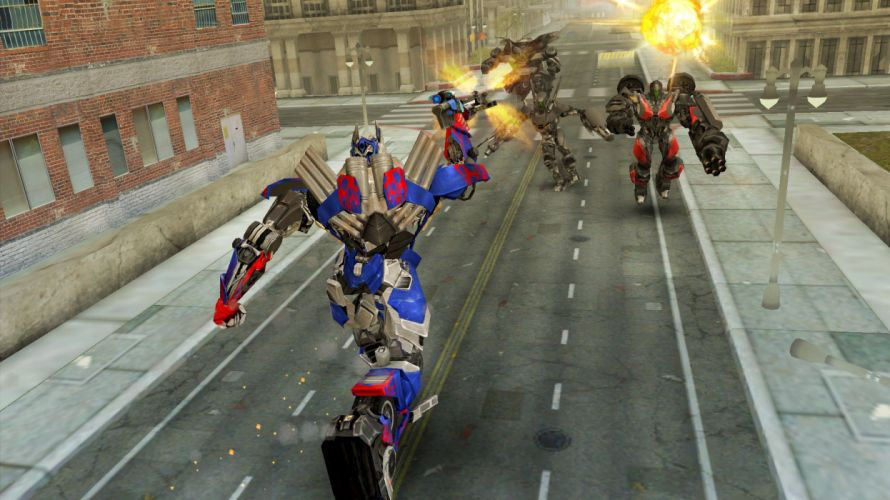 TRANSFORMERS DARK SPARK strategy rpg shooter age extinction action mecha rise (12) wallpaper