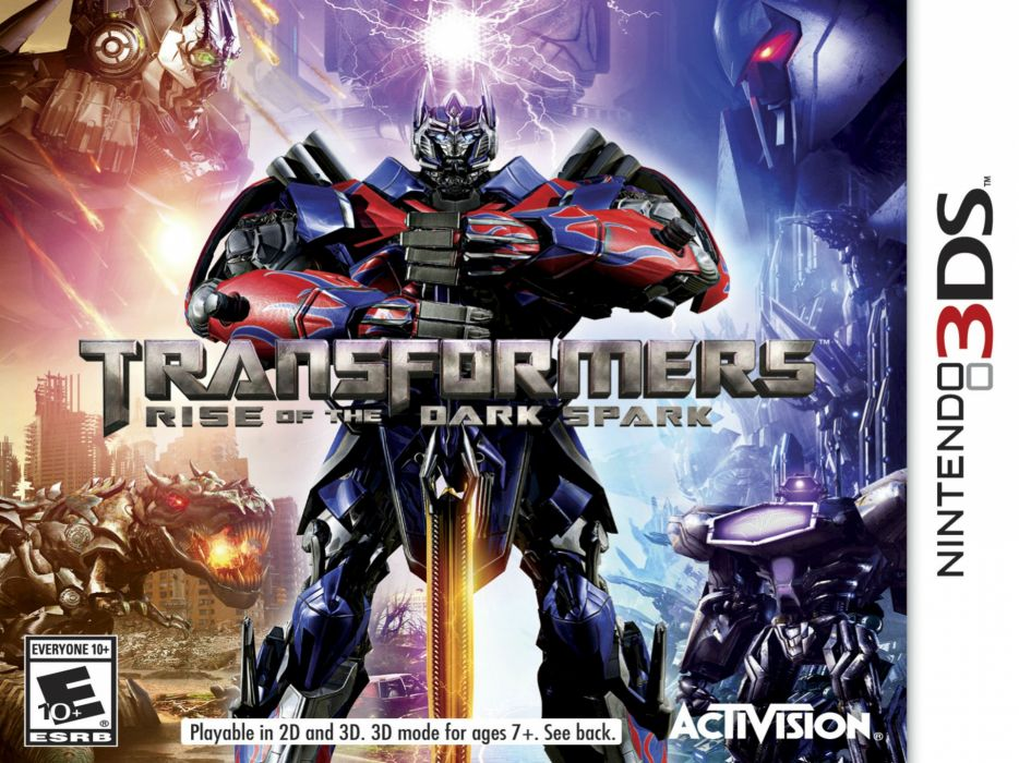 TRANSFORMERS DARK SPARK strategy rpg shooter age extinction action mecha rise (36) wallpaper