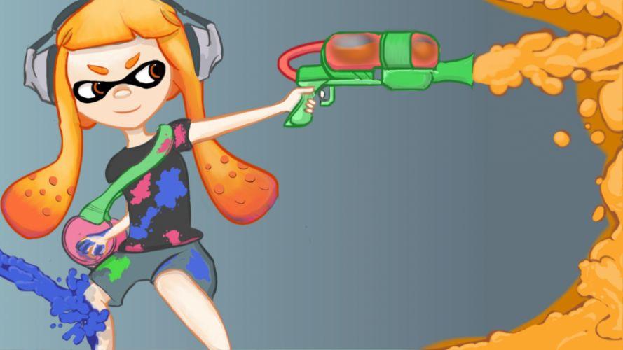 SPLATOON nintendo shooter family action (5) wallpaper