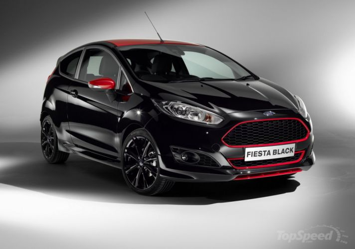 2014-Ford-Fiest- Black-And-Red-Edition wallpaper