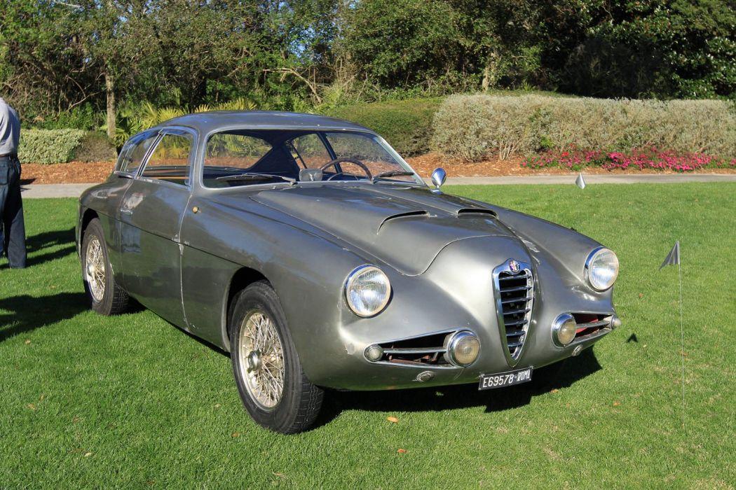 1954 Alfa-Romeo 1900C SSZ AR1900C Italy Car Vehicle Classic Retro Sport Supercar (1) wallpaper