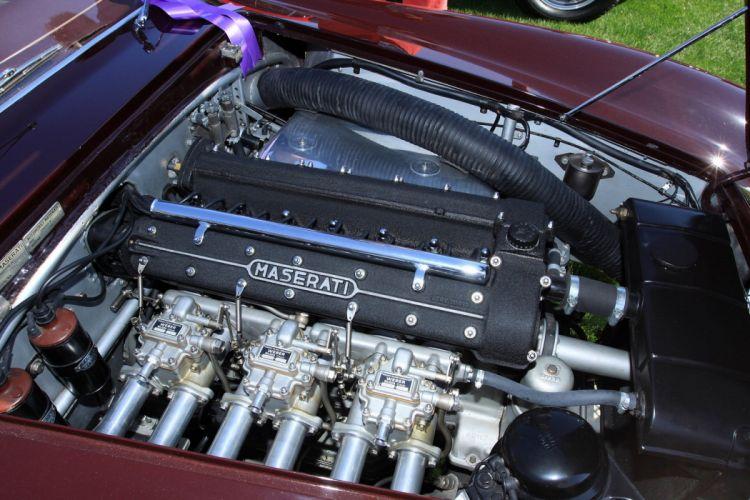 1955 Maserati A6G 2000 Engine Car Vehicle Classic Retro Sport Supercar Italy (6) wallpaper
