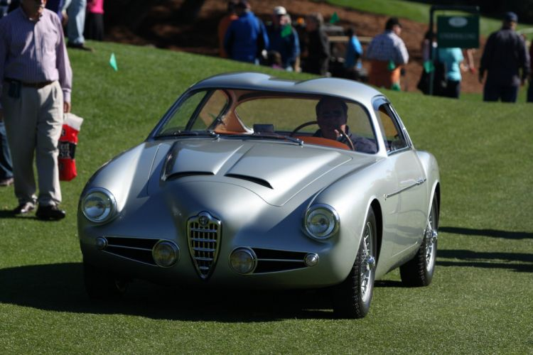 1956 Alfa-Romeo 1900 Zagato Car Vehicle Classic Retro Sport Supercar Italy (6) wallpaper