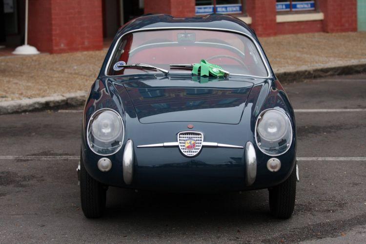 1956 Fiat Abarth 750-GT Zagato Car Vehicle Classic Retro Sport Supercar Italy (2) wallpaper