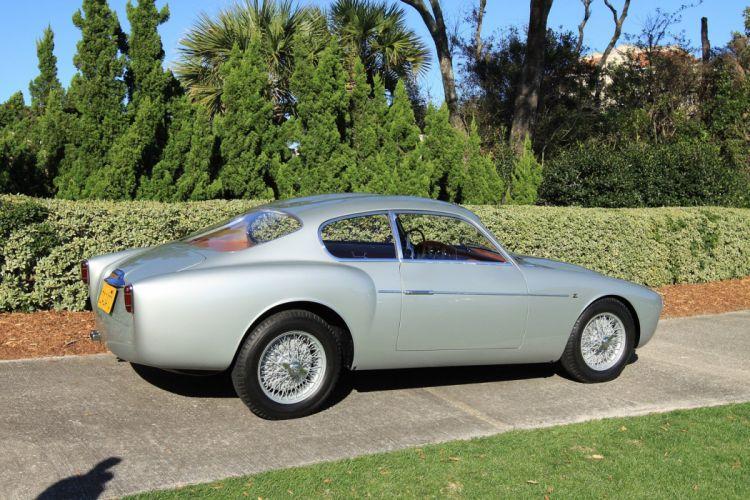 1956 Alfa-Romeo 1900 Zagato Car Vehicle Classic Retro Sport Supercar Italy (8) wallpaper