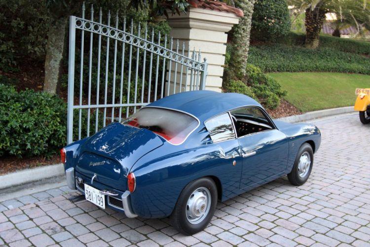 1956 Fiat Abarth 750-GT Zagato Car Vehicle Classic Retro Sport Supercar Italy (5) wallpaper