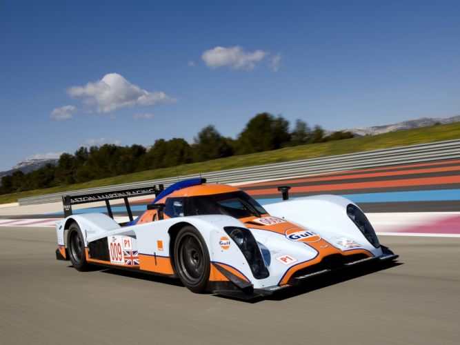 2009 Aston-Martin LMP1 Race Car Classic Vehicle Racing Gulf England Le-Mans 4000x3000 (3) wallpaper