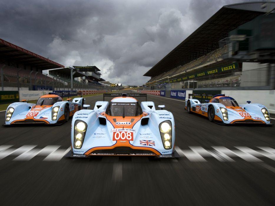 2009 Aston-Martin LMP1 Race Car Classic Vehicle Racing Gulf England Le-Mans 4000x3000 (2) wallpaper