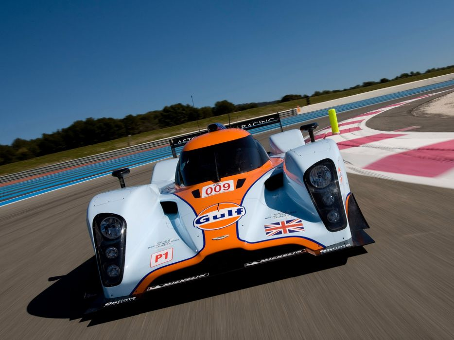 2009 Aston-Martin LMP1 Race Car Classic Vehicle Racing Gulf England Le-Mans 4000x3000 (5) wallpaper