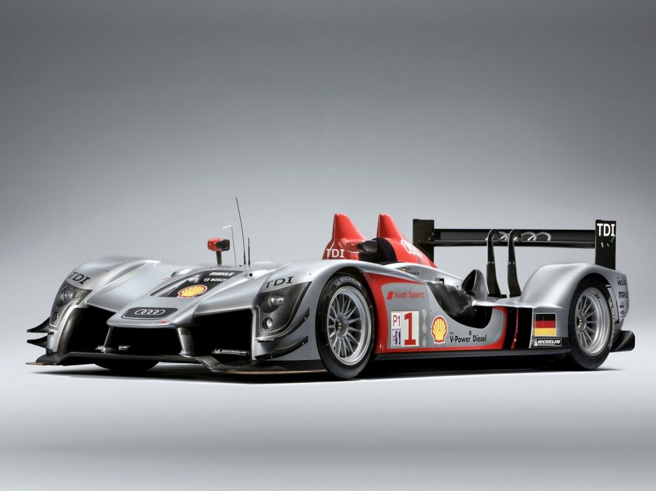 2009 Audi R15 TDI Race Car Classic Vehicle Racing Germany Le-Mans 4000x3000 (2) wallpaper