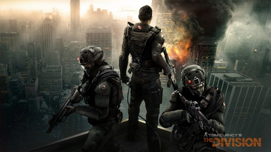 TOM CLANCYS DIVISION tactical shooter action rpg military online (23) wallpaper