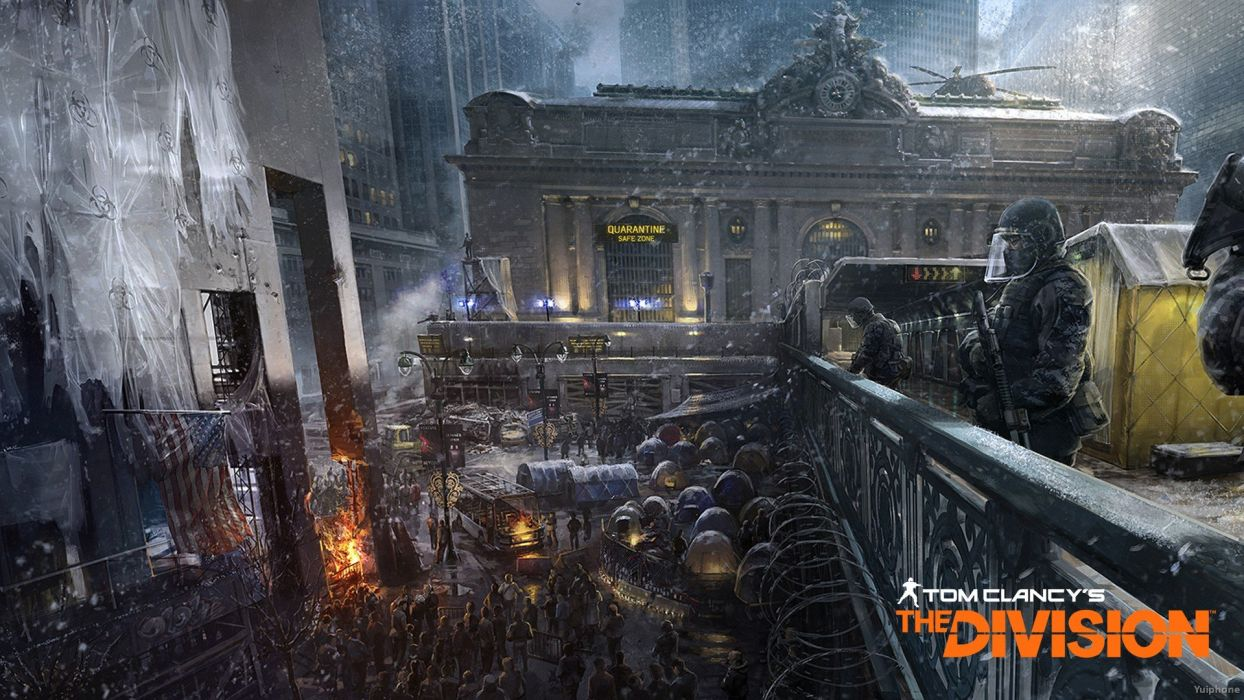 TOM CLANCYS DIVISION tactical shooter action rpg military online (36) wallpaper