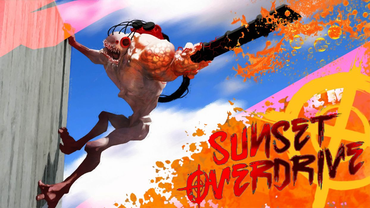 SUNSET OVERDRIVE action shooter sci-fi rpg (8) wallpaper