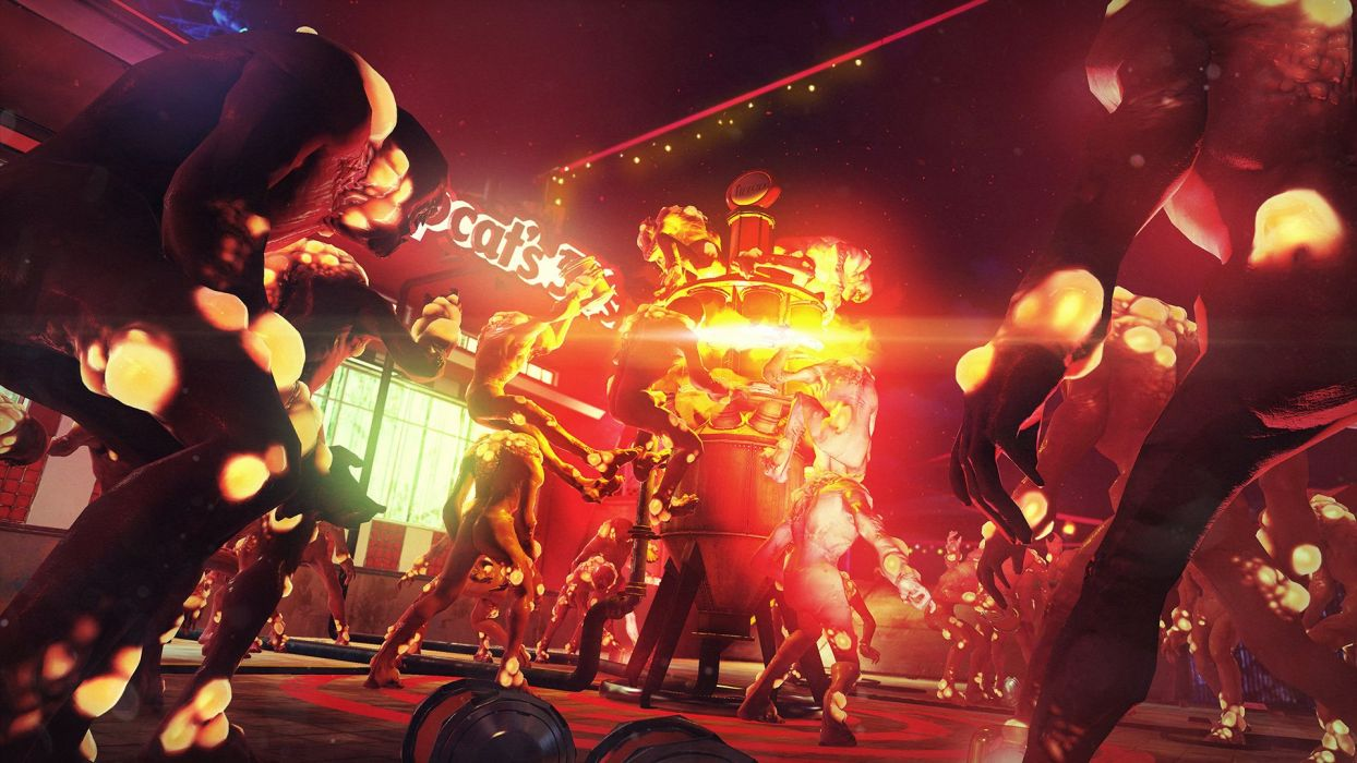SUNSET OVERDRIVE action shooter sci-fi rpg (29) wallpaper