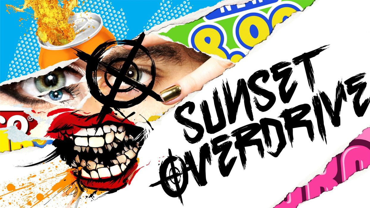 SUNSET OVERDRIVE action shooter sci-fi rpg (46) wallpaper