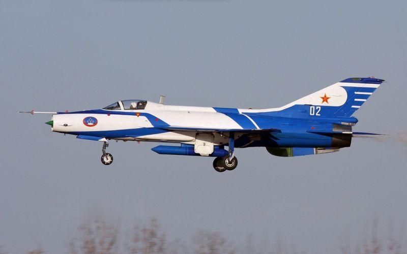 Chengdu J-7 China Air Force Jet Fighter Aircraft Vehicle 4000x2500 (2) wallpaper