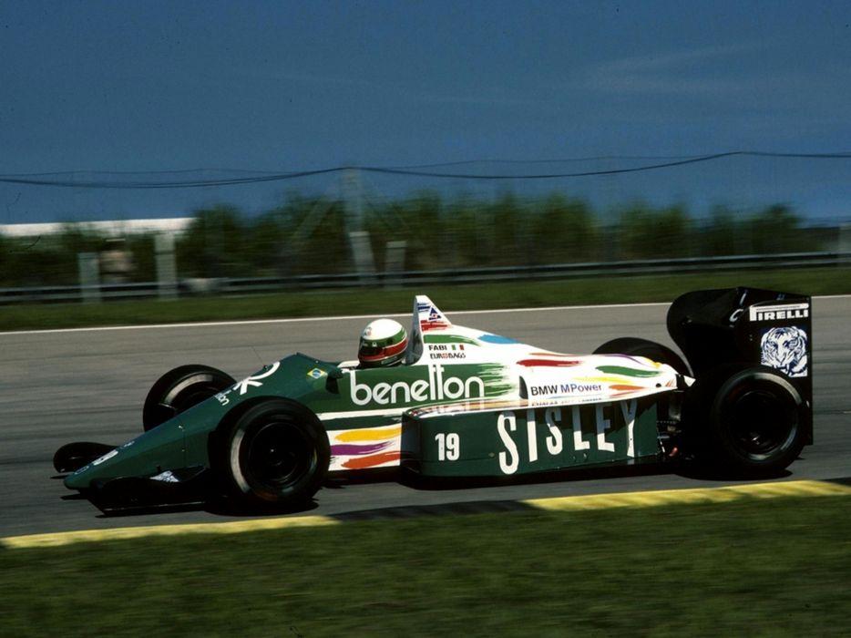 Benetton B186 1986 Race Car Racing Vehicle Supercar Formula-1 4000x3000 (3) wallpaper