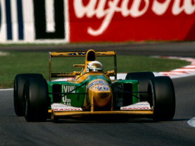 Benetton B192 1992 Race Car Racing Vehicle Supercar Formula-1 4000x3000 (5) wallpaper