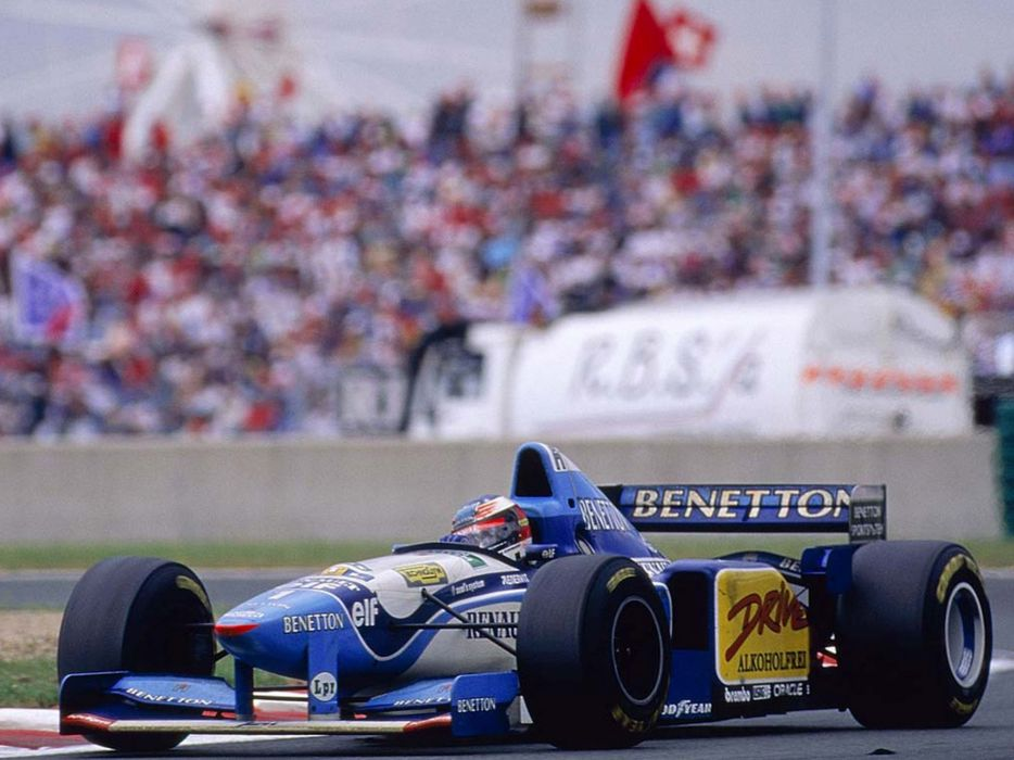 Benetton B195 1995 Race Car Racing Vehicle Supercar Formula-1 4000x3000 (5) wallpaper