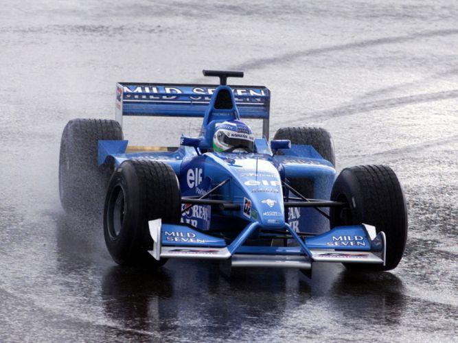 Benetton B201 2001 Race Car Racing Vehicle Supercar Formula-1 4000x3000 (1) wallpaper