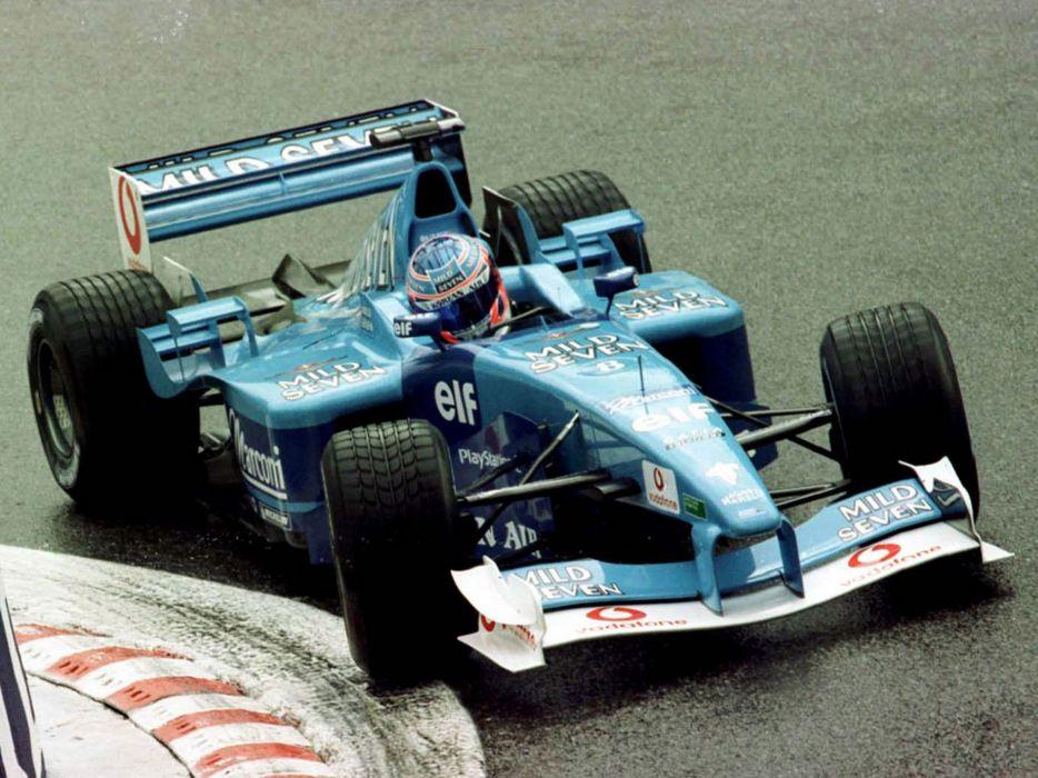 Benetton B201 2001 Race Car Racing Vehicle Supercar Formula-1 4000x3000 (4) wallpaper