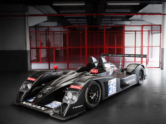 2011 Nissan Signature Race Car Classic Vehicle Racing Japan Le-Mans LMP2 4000x3000 (1) wallpaper