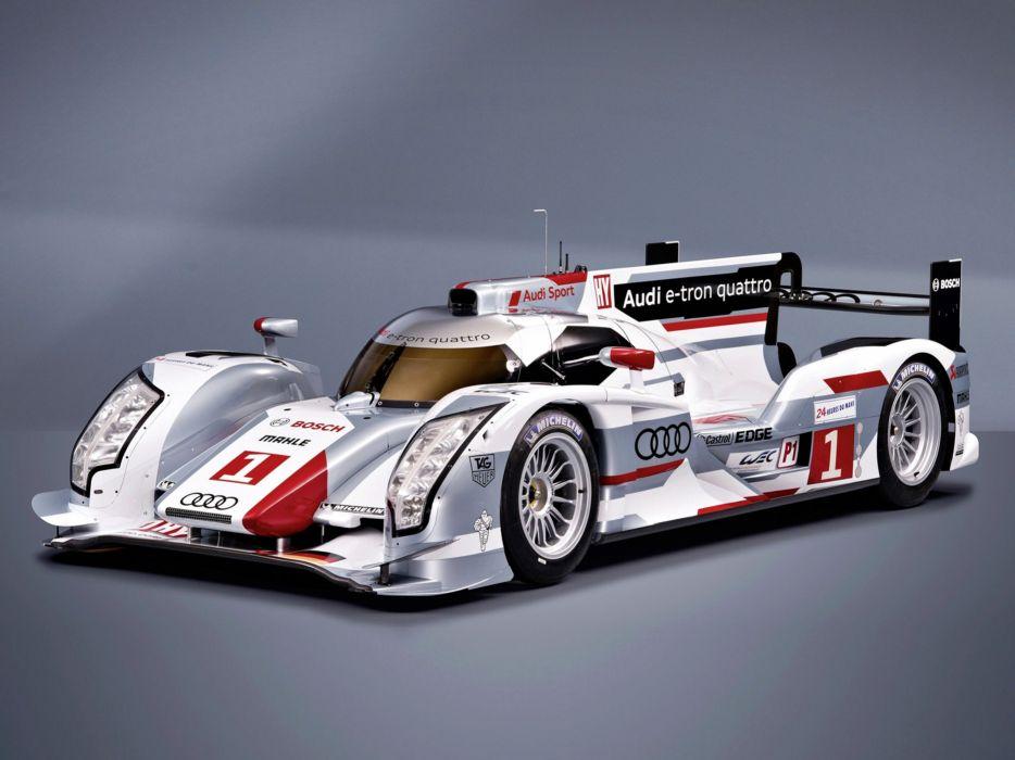 2012 Audi R18 E-Tron Quattro Race Car Classic Vehicle Racing Germany Le-Mans LMP1 4000x3000 (2) wallpaper