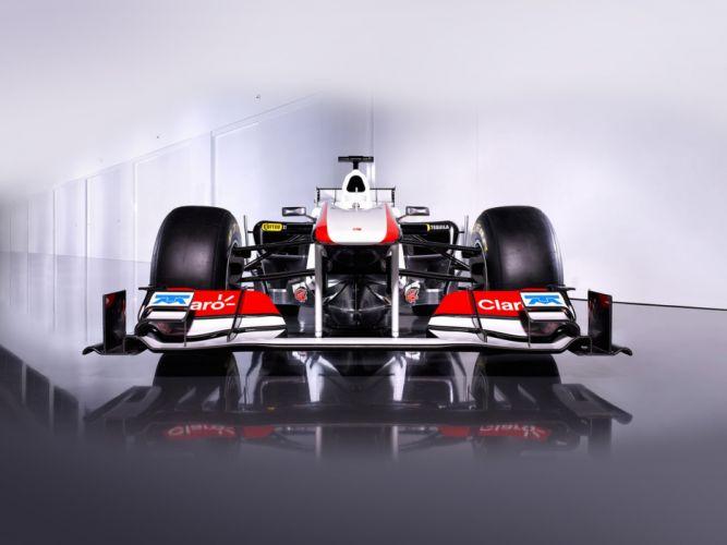 2011 Formula-1 Sauber C30 Race Car Racing Vehicle 4000x3000 (1) wallpaper