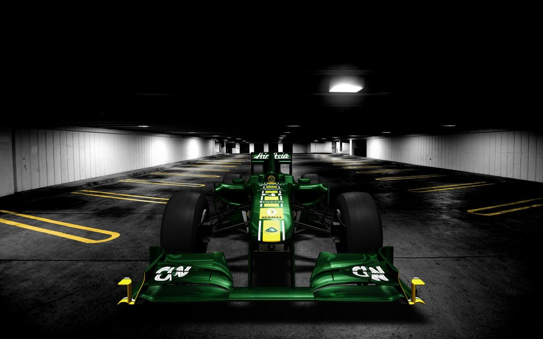 2011 Formula-1 Team Lotus T128 Race Car Racing Vehicle 4000x2500 (1) wallpaper