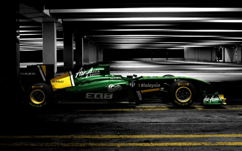 2011 Formula-1 Team Lotus T128 Race Car Racing Vehicle 4000x2500 (3) wallpaper