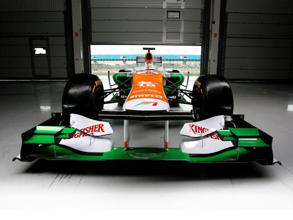 2012 Formula-1 Force India VJM05 Race Car Racing Vehicle 4000x3000 (1) wallpaper