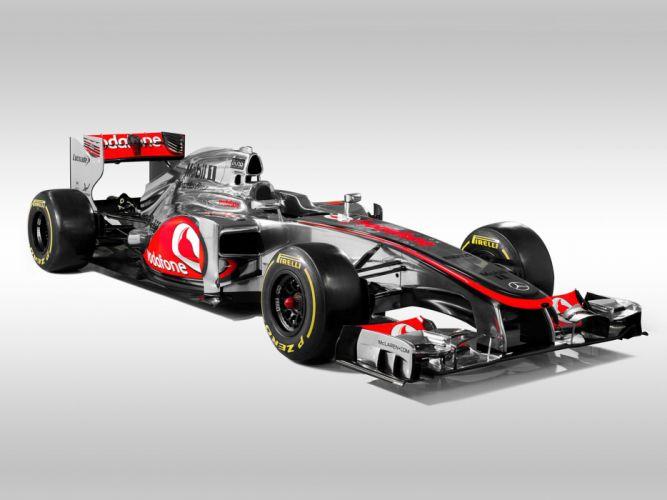 2012 Formula-1 McLaren MP4-27 Race Car Racing Vehicle 4000x3000 (2) wallpaper