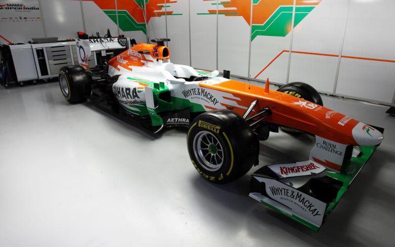 2013 Formula-1 Force India VJM06 Race Car Racing Vehicle 4000x2500 (1) wallpaper