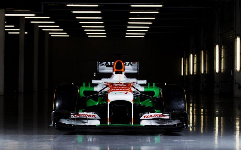 2013 Formula-1 Force India VJM06 Race Car Racing Vehicle 4000x2500 (2) wallpaper