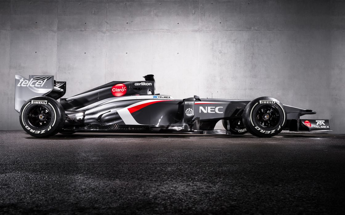 2013 Formula 1 Sauber C32 Race Car Racing Vehicle 4000x2500 Wallpaper