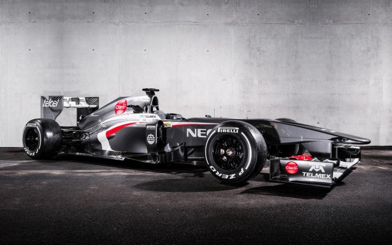2013 Formula-1 Sauber C32 Race Car Racing Vehicle 4000x2500 (2) wallpaper