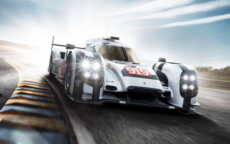 2014 Porsche 919 Hybrid Race Car Classic Vehicle Racing Germany Le-Mans LMP1 4000x2500 (1) wallpaper