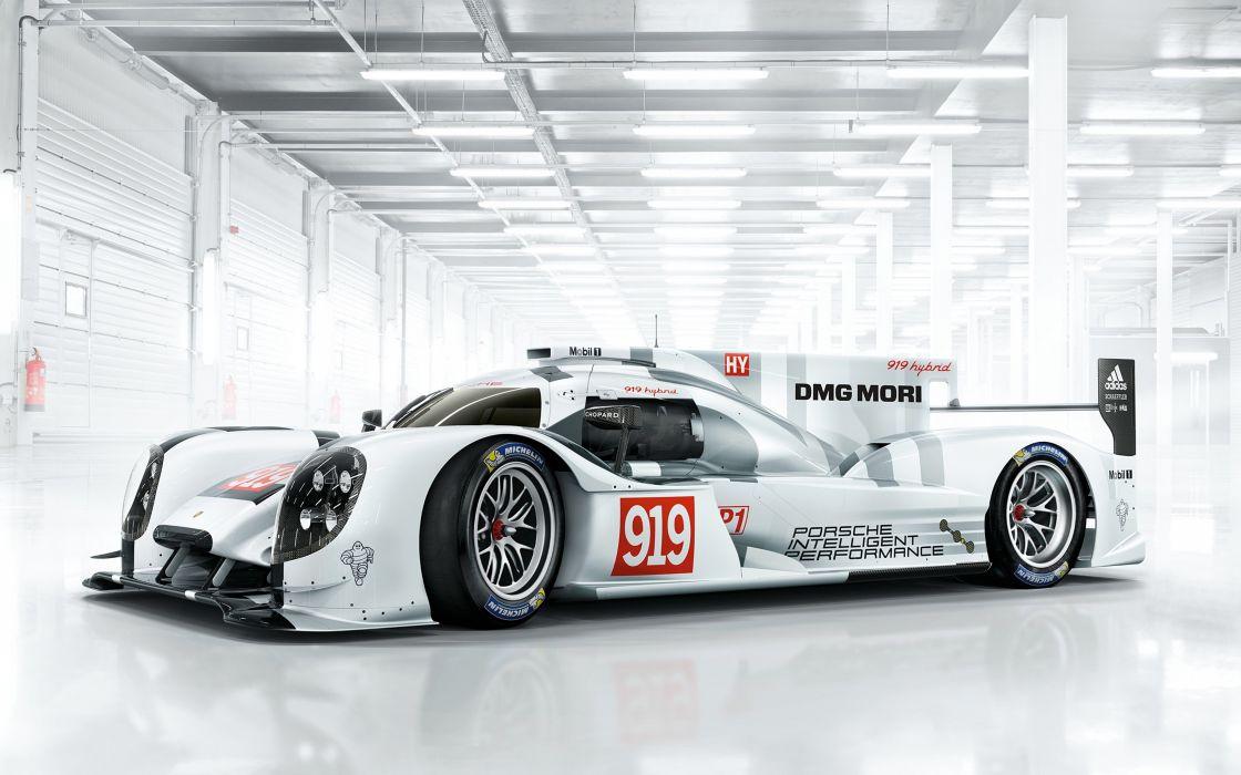 2014 Porsche 919 Hybrid Race Car Classic Vehicle Racing Germany Le-Mans LMP1 4000x2500 (2) wallpaper
