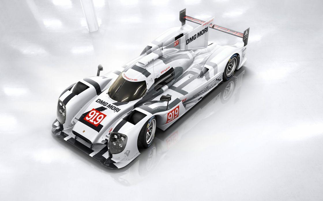 2014 Porsche 919 Hybrid Race Car Classic Vehicle Racing Germany Le-Mans LMP1 4000x2500 (4) wallpaper