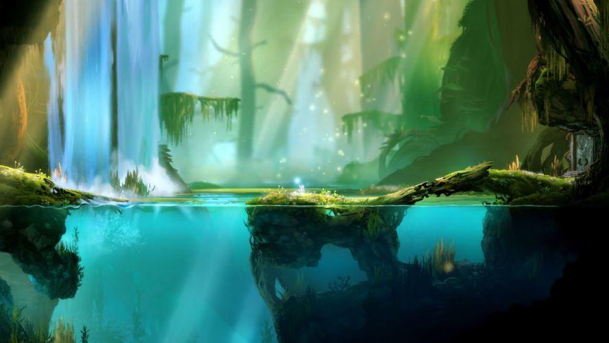 ORI-BLIND-FOREST action adventure rpg fantasy ori blind forest (19) wallpaper