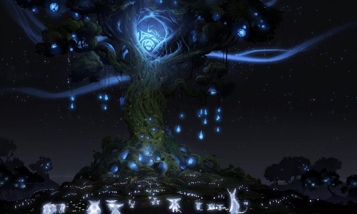 ORI-BLIND-FOREST action adventure rpg fantasy ori blind forest (17) wallpaper