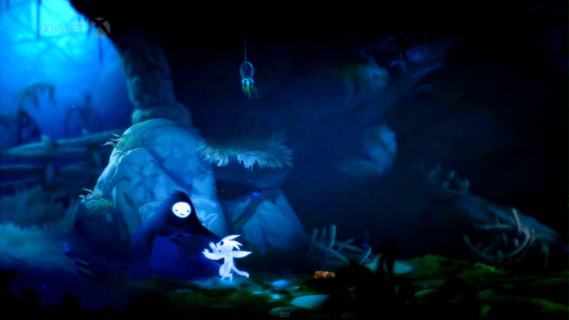 Ori And The Blind Forest Hd Wallpaper: ORI-BLIND-FOREST Action Adventure Rpg Fantasy Ori Blind