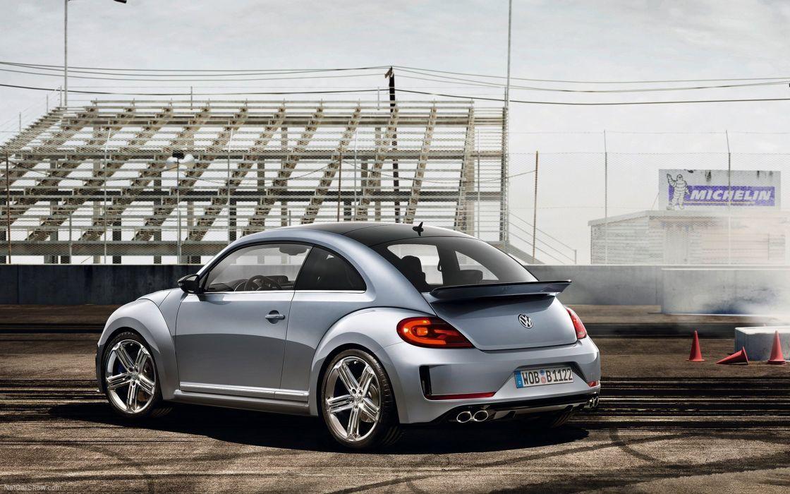 2011 Volkswagen Beetle-R Concept Car Vehicle Germany 4000x2500 (1) wallpaper