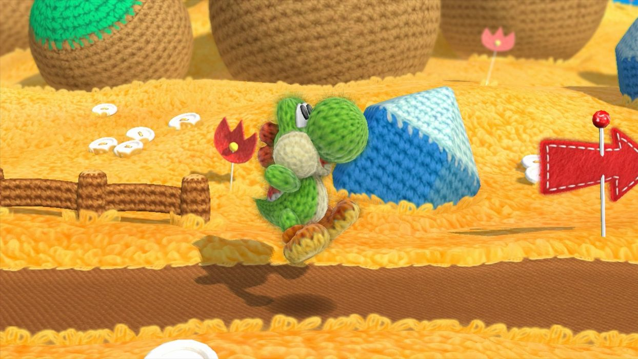 YOSHIS WOOLY WORLD family nintendo cartoon adventure online (2) wallpaper