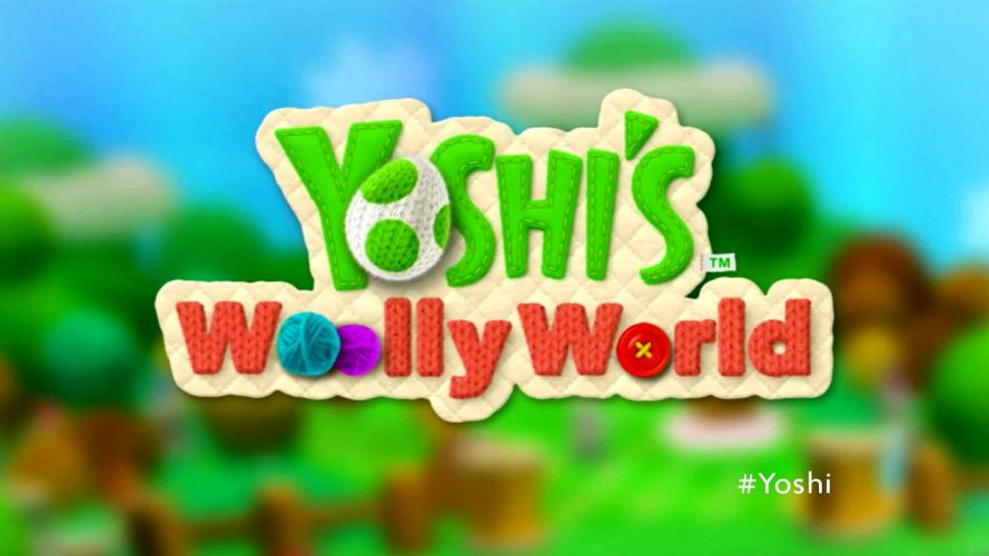 YOSHIS WOOLY WORLD family nintendo cartoon adventure online (3) wallpaper