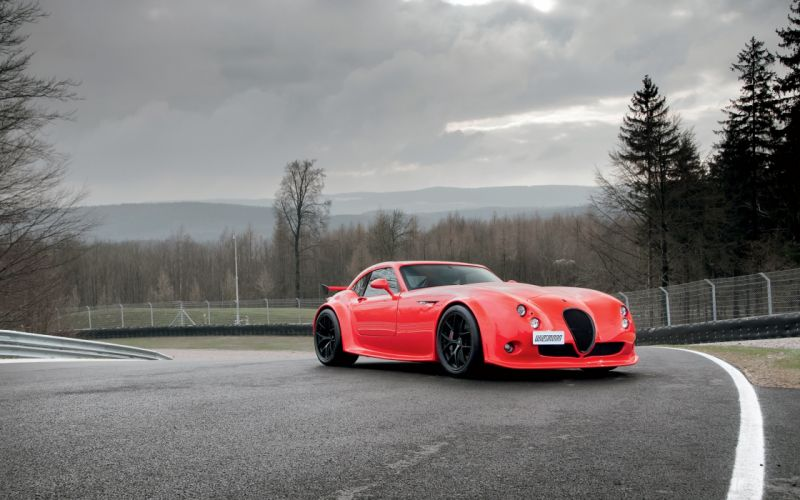 2013 Wiesmann GT-MF4-CS Car Vehicle Sport Supercar Sportcar Supersport Germany Red 4000x2500 (1) wallpaper