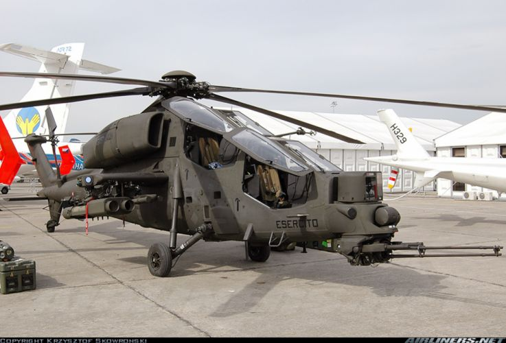 Helicopter Aircraft Vehicle Military Army Attack Agusta A129 Mangusta Italy wallpaper