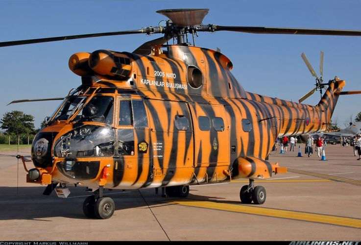 Helicopter Aircraft Vehicle Military Transport Cargo Troops Tiger wallpaper