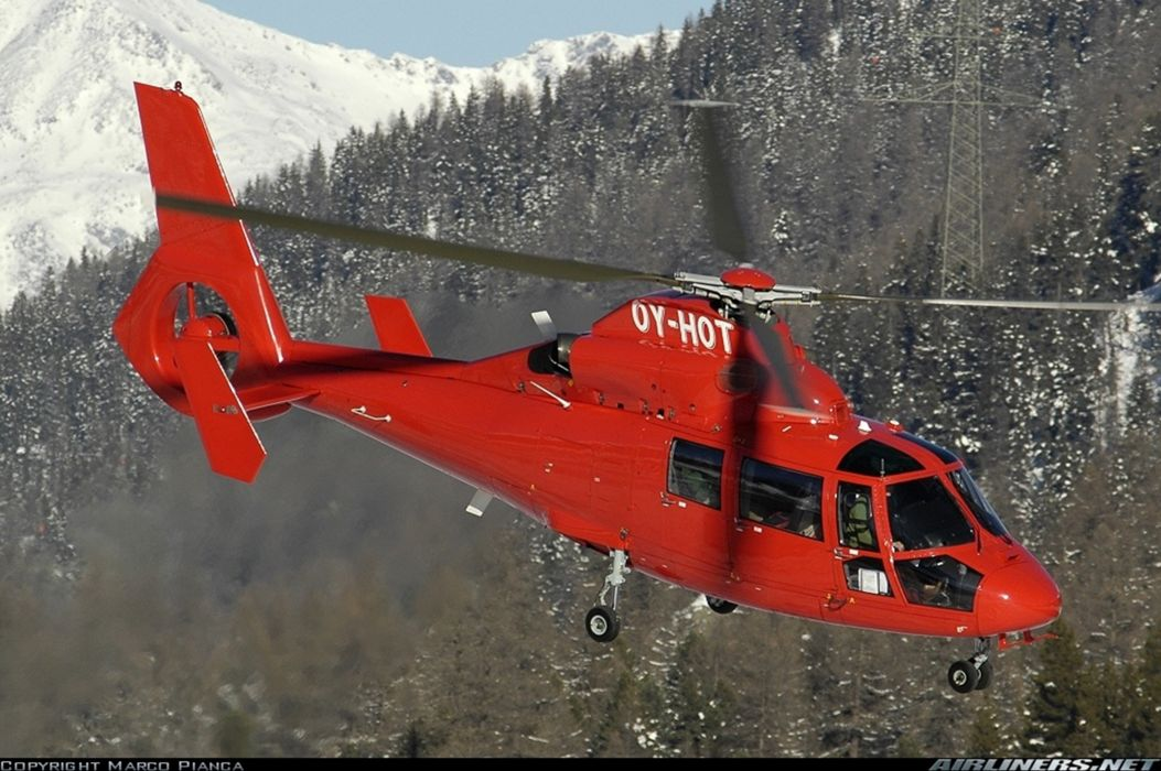 Helicopter Aircraft Vehicle Red 4000x2660 wallpaper
