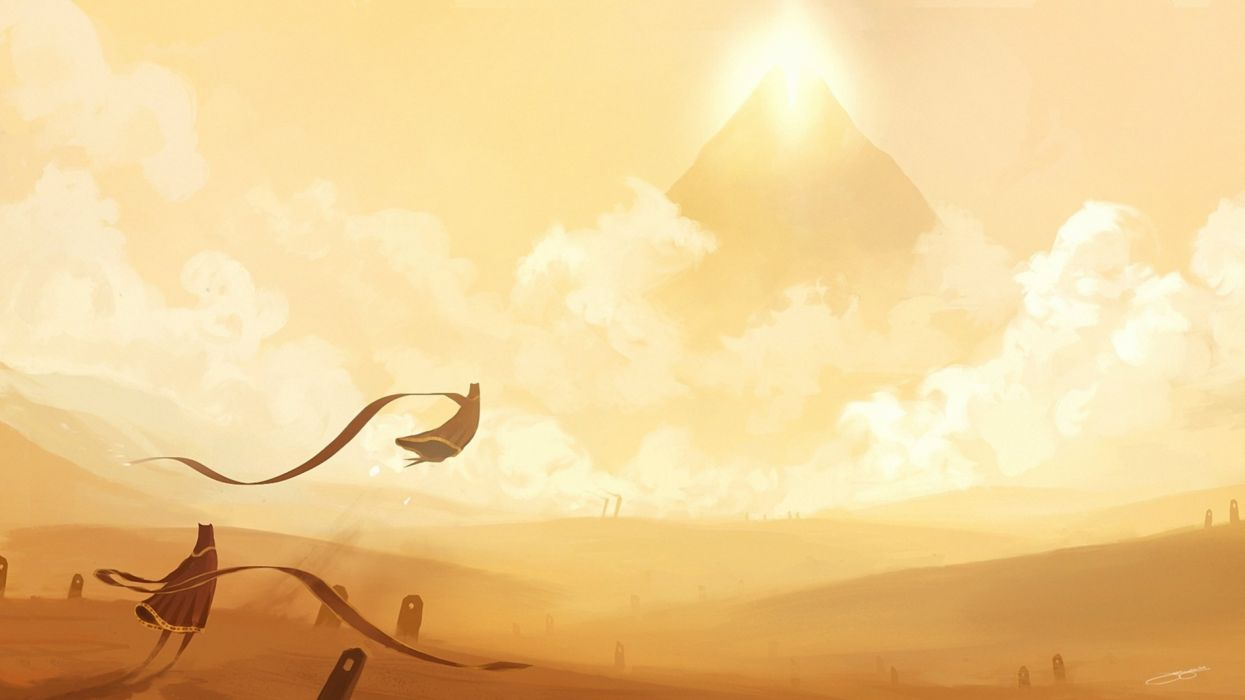 JOURNEY indie fantasy adventure family cartoon (22) wallpaper